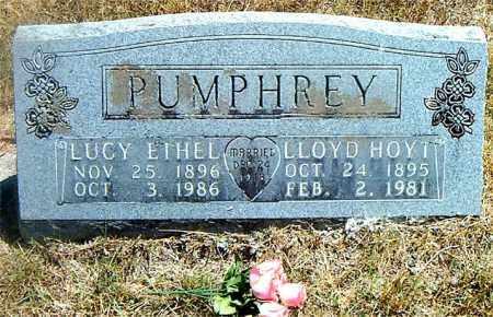 RALEY PUMPHREY, LUCY ETHEL - Boone County, Arkansas   LUCY ETHEL RALEY PUMPHREY - Arkansas Gravestone Photos