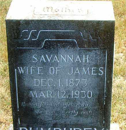 PUMPHREY, SAVANNAH - Boone County, Arkansas | SAVANNAH PUMPHREY - Arkansas Gravestone Photos