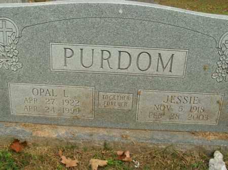 PURDOM, OPAL L. - Boone County, Arkansas | OPAL L. PURDOM - Arkansas Gravestone Photos