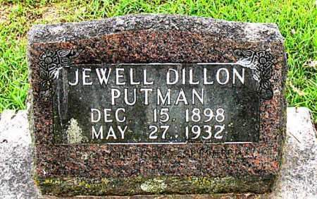 PUTMAN, JEWELL - Boone County, Arkansas | JEWELL PUTMAN - Arkansas Gravestone Photos