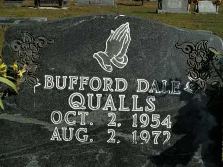 QUALLS, BUFFORD DALE - Boone County, Arkansas | BUFFORD DALE QUALLS - Arkansas Gravestone Photos