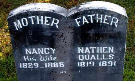 QUALLS, NATHEN - Boone County, Arkansas | NATHEN QUALLS - Arkansas Gravestone Photos