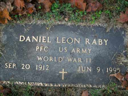 RABY  (VETERAN WWII), DANIEL LEON - Boone County, Arkansas | DANIEL LEON RABY  (VETERAN WWII) - Arkansas Gravestone Photos