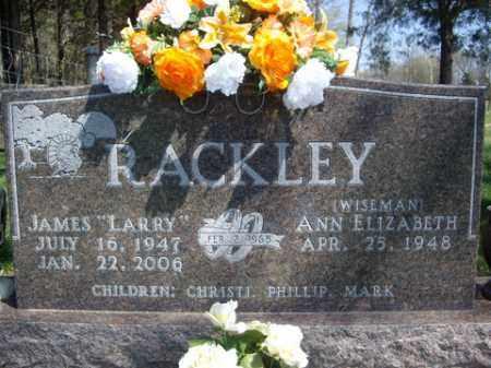 "RACKLEY, JAMES ""LARRY"" - Boone County, Arkansas | JAMES ""LARRY"" RACKLEY - Arkansas Gravestone Photos"