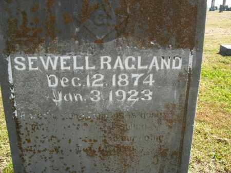 RAGLAND, SEWELL - Boone County, Arkansas | SEWELL RAGLAND - Arkansas Gravestone Photos