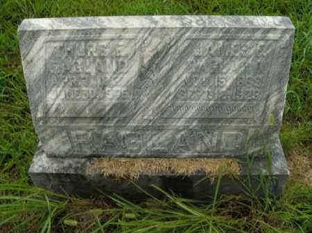 RAGLAND, JAMES F. - Boone County, Arkansas | JAMES F. RAGLAND - Arkansas Gravestone Photos