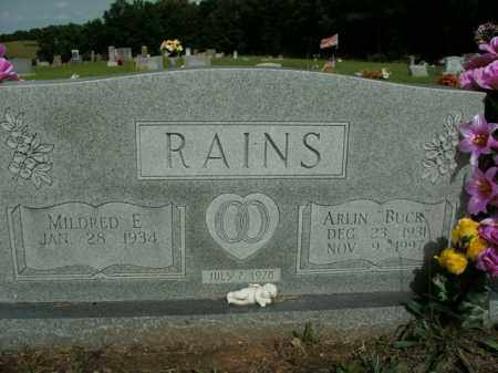 "RAINS, ARLIN ""BUCK"" - Boone County, Arkansas 