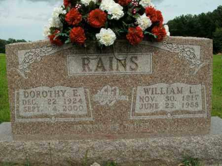RAINS, DOROTHY E. - Boone County, Arkansas | DOROTHY E. RAINS - Arkansas Gravestone Photos