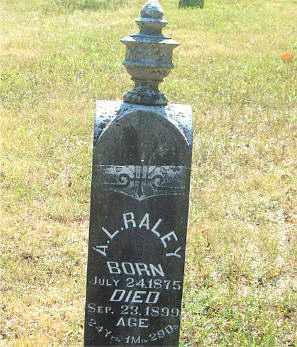 RALEY, ALFRED LEONARD - Boone County, Arkansas | ALFRED LEONARD RALEY - Arkansas Gravestone Photos