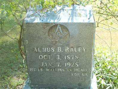 RALEY, ALMUS  B. - Boone County, Arkansas   ALMUS  B. RALEY - Arkansas Gravestone Photos