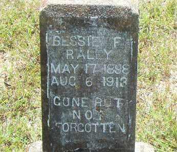 RALEY, BESSIE  F. - Boone County, Arkansas | BESSIE  F. RALEY - Arkansas Gravestone Photos