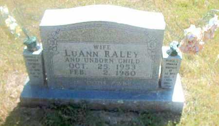 RALEY, LUANN - Boone County, Arkansas | LUANN RALEY - Arkansas Gravestone Photos