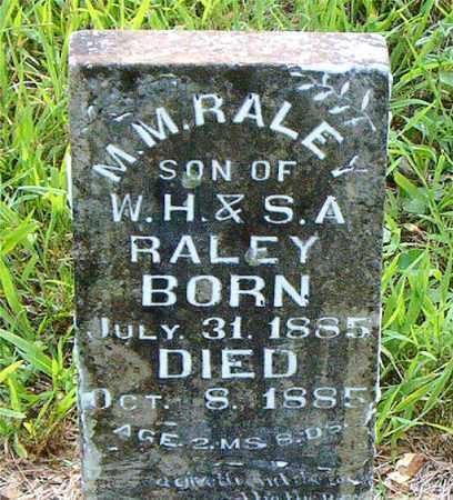 RALEY, M. M. - Boone County, Arkansas | M. M. RALEY - Arkansas Gravestone Photos