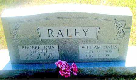 RALEY, PHOEBE  OMA - Boone County, Arkansas | PHOEBE  OMA RALEY - Arkansas Gravestone Photos