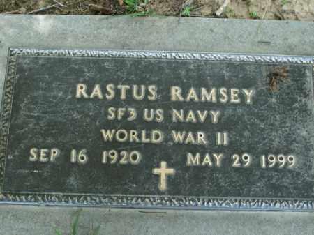 RAMSEY  (VETERAN WWII), RASTUS - Boone County, Arkansas   RASTUS RAMSEY  (VETERAN WWII) - Arkansas Gravestone Photos