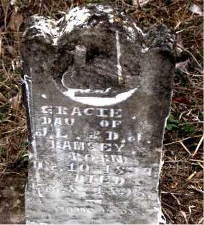 RAMSEY, GRACIE - Boone County, Arkansas | GRACIE RAMSEY - Arkansas Gravestone Photos