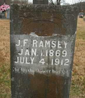 RAMSEY, JAMES F. - Boone County, Arkansas | JAMES F. RAMSEY - Arkansas Gravestone Photos