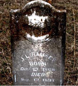 RAMSEY, J.  L. - Boone County, Arkansas   J.  L. RAMSEY - Arkansas Gravestone Photos