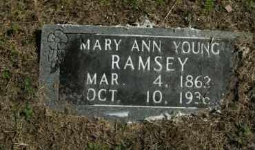 RAMSEY, MARY ANN - Boone County, Arkansas | MARY ANN RAMSEY - Arkansas Gravestone Photos