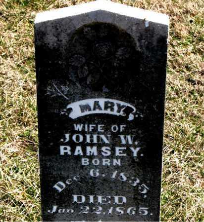 RAMSEY, MARY - Boone County, Arkansas   MARY RAMSEY - Arkansas Gravestone Photos