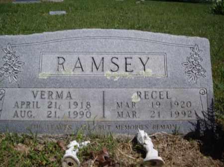 RAMSEY  (VETERAN WWII), RECEL - Boone County, Arkansas | RECEL RAMSEY  (VETERAN WWII) - Arkansas Gravestone Photos