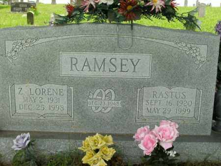 RAMSEY, Z. LORENE - Boone County, Arkansas | Z. LORENE RAMSEY - Arkansas Gravestone Photos