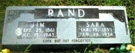 RAND, SARA - Boone County, Arkansas | SARA RAND - Arkansas Gravestone Photos