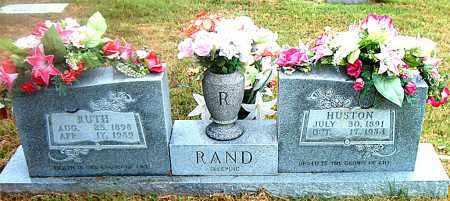 RAND, HUSTON - Boone County, Arkansas | HUSTON RAND - Arkansas Gravestone Photos