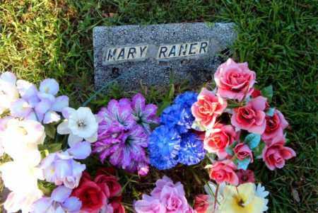 RANER, MARY - Boone County, Arkansas | MARY RANER - Arkansas Gravestone Photos