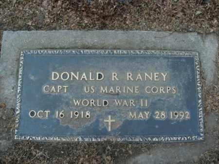 RANEY  (VETERAN WWII), DONALD ROY - Boone County, Arkansas | DONALD ROY RANEY  (VETERAN WWII) - Arkansas Gravestone Photos