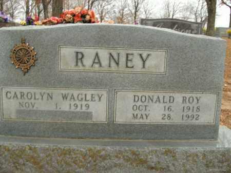 RANEY, DONALD ROY - Boone County, Arkansas   DONALD ROY RANEY - Arkansas Gravestone Photos