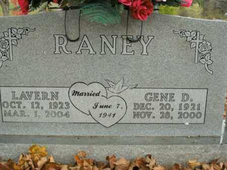 RANEY, LAVERN - Boone County, Arkansas | LAVERN RANEY - Arkansas Gravestone Photos