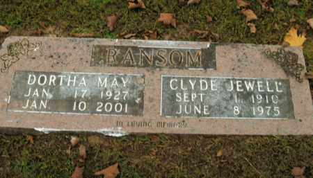 RANSOM, DORTHA MAY - Boone County, Arkansas | DORTHA MAY RANSOM - Arkansas Gravestone Photos