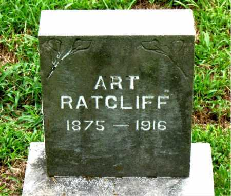 RATCLIFF, ART - Boone County, Arkansas | ART RATCLIFF - Arkansas Gravestone Photos