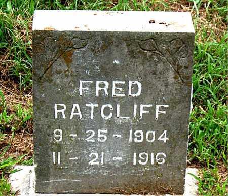 RATCLIFF, FRED - Boone County, Arkansas | FRED RATCLIFF - Arkansas Gravestone Photos