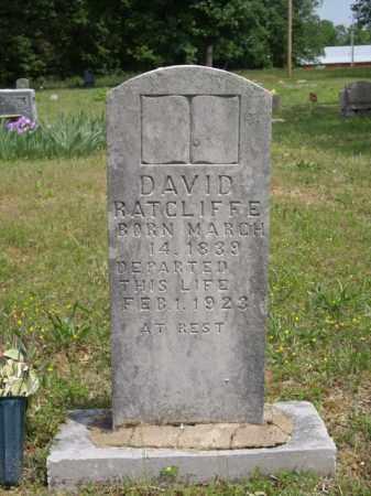 RATCLIFFE, DAVID - Boone County, Arkansas   DAVID RATCLIFFE - Arkansas Gravestone Photos