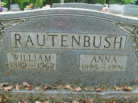 RAUTENBUSH (VETERAN WWI), WILLIAM - Boone County, Arkansas | WILLIAM RAUTENBUSH (VETERAN WWI) - Arkansas Gravestone Photos