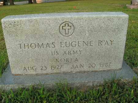 RAY  (VETERAN KOR), THOMAS EUGENE - Boone County, Arkansas | THOMAS EUGENE RAY  (VETERAN KOR) - Arkansas Gravestone Photos