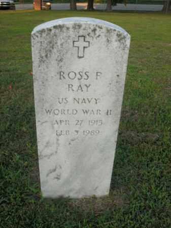 RAY  (VETERAN WWII), ROSS F. - Boone County, Arkansas   ROSS F. RAY  (VETERAN WWII) - Arkansas Gravestone Photos