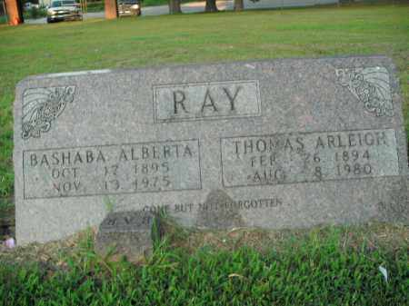 RAY, THOMAS ARLEIGH - Boone County, Arkansas | THOMAS ARLEIGH RAY - Arkansas Gravestone Photos