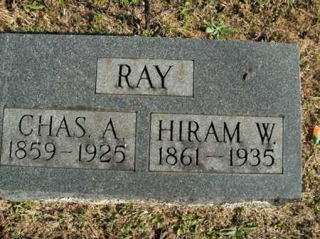 RAY, HIRAM W. - Boone County, Arkansas | HIRAM W. RAY - Arkansas Gravestone Photos