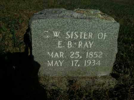RAY, C.W. - Boone County, Arkansas | C.W. RAY - Arkansas Gravestone Photos