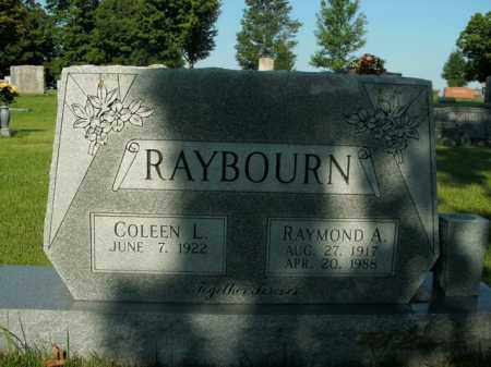RAYBOURN, RAYMOND A. - Boone County, Arkansas | RAYMOND A. RAYBOURN - Arkansas Gravestone Photos