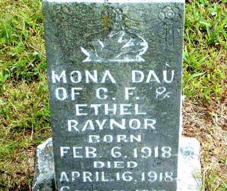 RAYNOR, MONA - Boone County, Arkansas | MONA RAYNOR - Arkansas Gravestone Photos