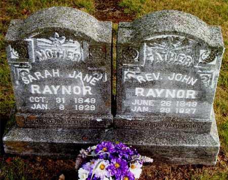 RAYNOR, JOHN - Boone County, Arkansas | JOHN RAYNOR - Arkansas Gravestone Photos