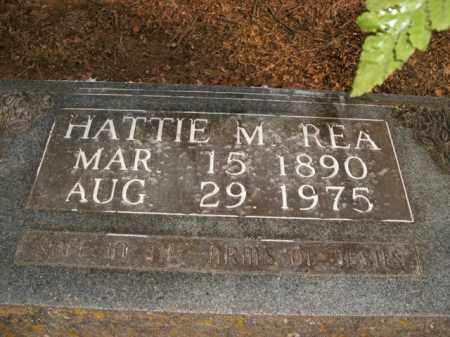 REA, HATTIE M. - Boone County, Arkansas | HATTIE M. REA - Arkansas Gravestone Photos