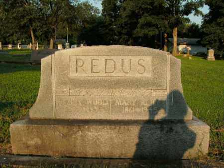 REDUS, HENRY WOOD - Boone County, Arkansas | HENRY WOOD REDUS - Arkansas Gravestone Photos