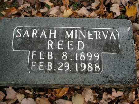 REED, SARAH MINERVA - Boone County, Arkansas   SARAH MINERVA REED - Arkansas Gravestone Photos