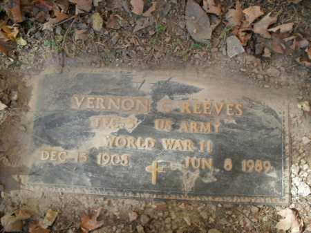 REEVES  (VETERAN WWII), VERNON C - Boone County, Arkansas   VERNON C REEVES  (VETERAN WWII) - Arkansas Gravestone Photos