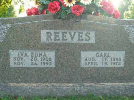 REEVES, IVA EDNA - Boone County, Arkansas | IVA EDNA REEVES - Arkansas Gravestone Photos